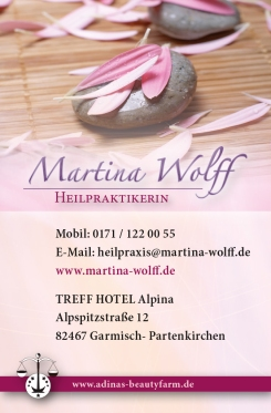 MartinWolff_Heilpraktikerin - Visitenkarte
